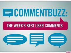 here are your best reader comments from this week